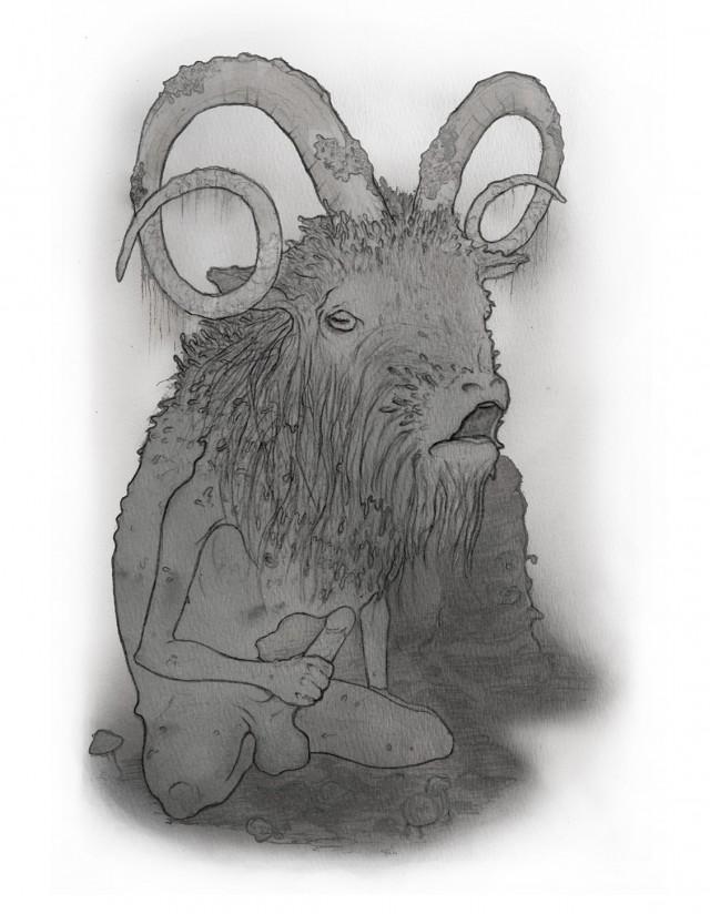 The Moss-Worn Goat